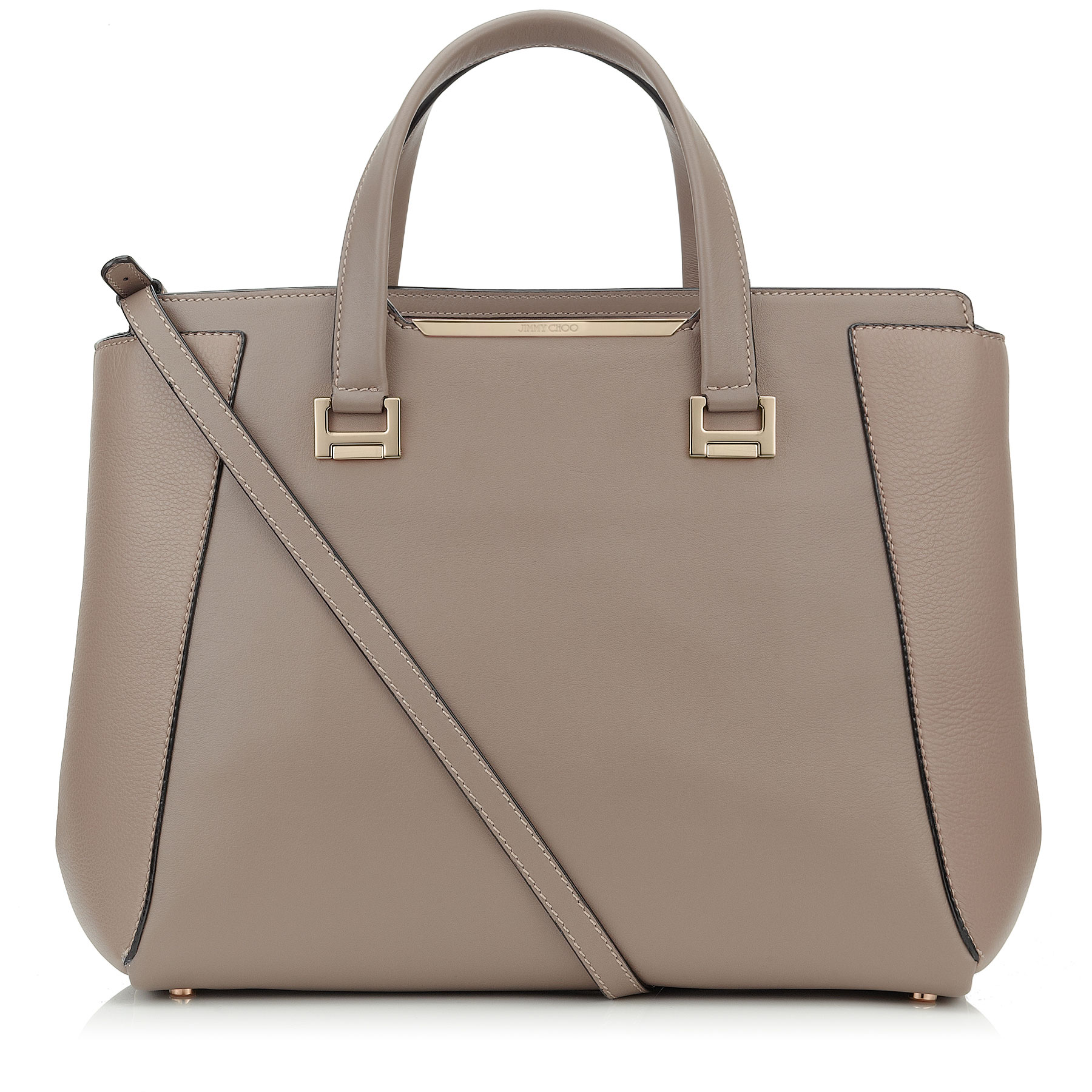 ALFIE L Musk Soft Smooth and Soft Calf Leather Tote Bag