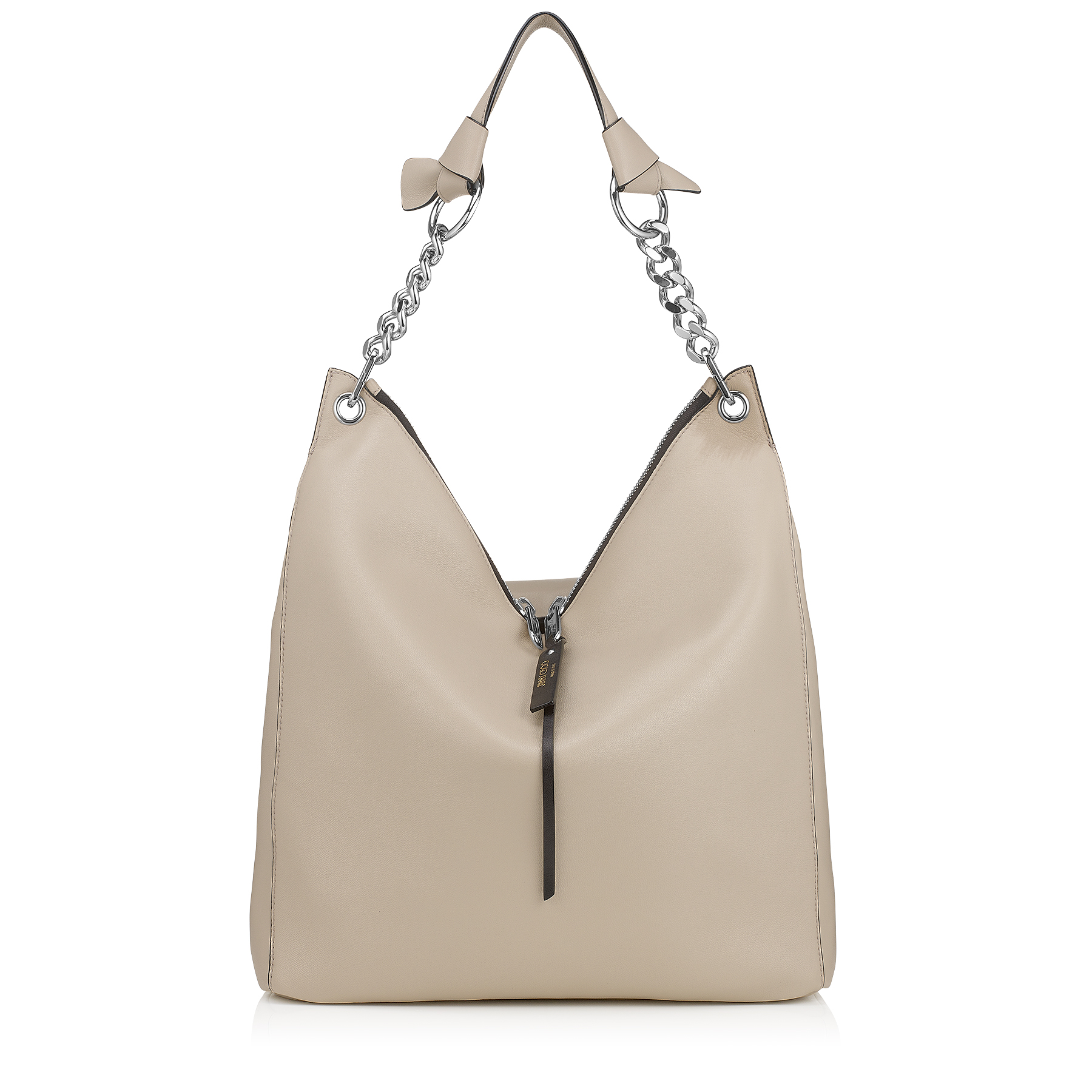 RAVEN Marble Nappa Leather Shoulder Bag