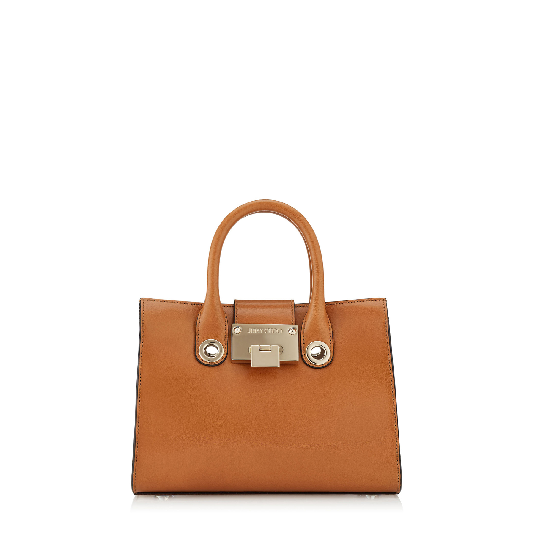 RILEY/S Canyon Natural Vegetable Dyed Leather Mini Tote Bag